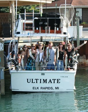 Ultimate Charter Fishing Traverse City, Elk Rapids Michigan